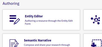 choose entity editor